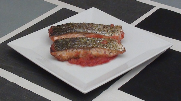 baked crispy salmon