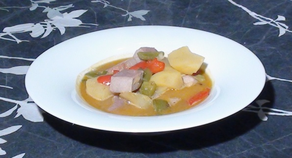 tuna pot marmitako