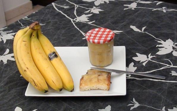 Banana marmalade