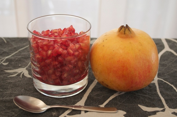 Pomegranate unwrapped
