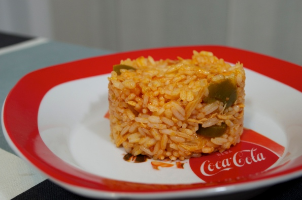 Mexicanized rice